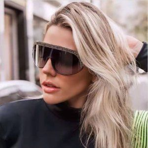 💯 NEW Jimmy Choo SIRYN/S 0KB7-NQ Women Sunglasses